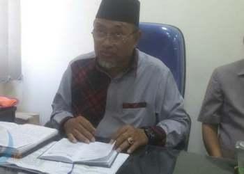 TAAT ATURAN: Ketua FKUB Samarinda, M Zaini Naim menyatakan pihaknya belum merekomendasikan IMB untuk masjid yang akan dibangun di Lapangan Kinibalu.(DEVI/METRO SAMARINDA)
