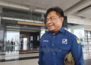 Ketua KPU Bontang, Erwin. (Zaenul/bontangpost.id)
