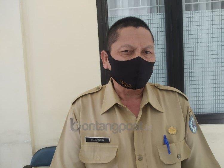Kabid Dikdas Disdikbud Bontang, Saparuddin. (Fitri Wahyuningsih/Bontangpost.id)