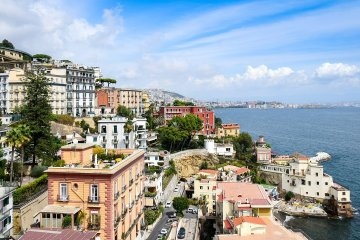 NAPLES:  LONG WEEKEND NON STOP ROUND TRIP FLIGHT + HOTEL 3* (3 NIGHTS)   FROM FRANCE, GERMANY  AND MALTA FROM 60 EUROS P/P