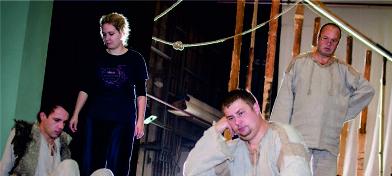 """Šekspirs Latgaliski – Daugpiļs teatra izruode """"Vosorys saulgrīžu burvesteibys"""""""