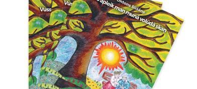 Dzejnīka i sabīdryskuo darbinīka Ontona Slišāna 70 godu svieteišona Zīmeļlatgolā. #OntonamSlišānam70