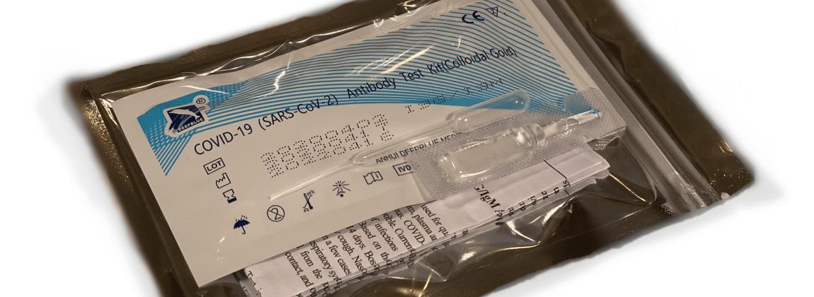 自宅で簡単に検査できる「抗体検査キットDEEPBLUE」 個人でも申込できるサイトがOPEN!
