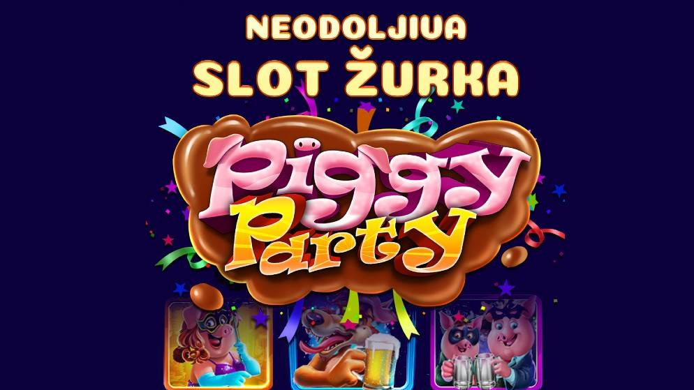 Piggy Party – kad vuk i prasići naprave žurku!