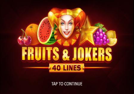 Fruits and Jokers: 40 lines – voćna zabava na novi način