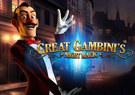 The Great Gambini's Night Magic – vam donosi šou!