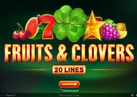 Fruits and Clovers: 20 lines–pokrenite voćnu avanturu