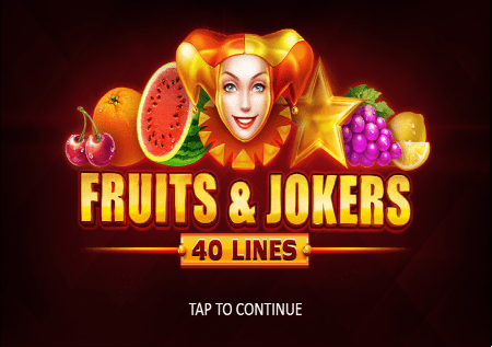 Fruits and Jokers: 40 lines–voćna zabava u novom slotu