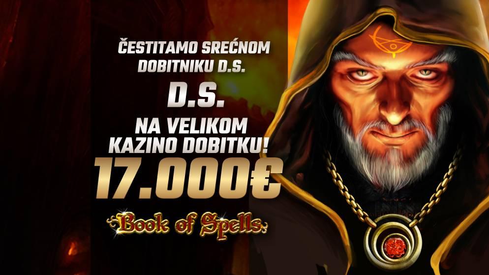 Magičan dobitak u iznosu od 17.000€!