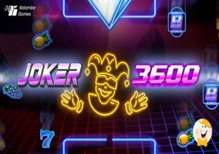 Joker 3600 – igrom do bonusa i sjajnih dobitaka!
