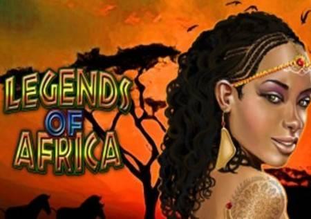 Legends of Africa – iz Afrike stižu sjajni dobici u kazino igri!