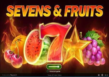 Sevens and Fruits – formula za srecan dobitak!