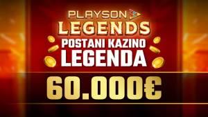 Turnir Playson Legends