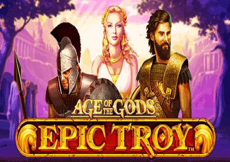 Age of the Gods: Epic Troy – osvojite moćne džekpotove!