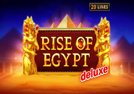 Rise of Egypt Deluxe –drevni Egipat i sjajne bonus funkcije!