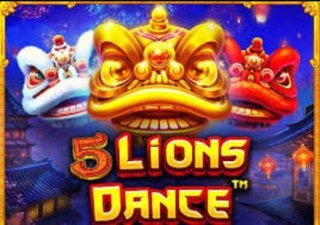 5 Lions Dance – kazino igra koja vam donosi čarobne bonuse!