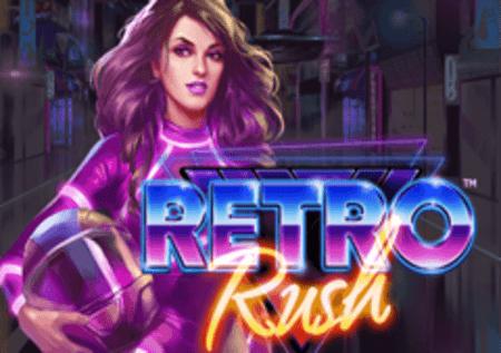 Retro Rush – osvoji vrhunske bonuse sa množiteljima u slotu!