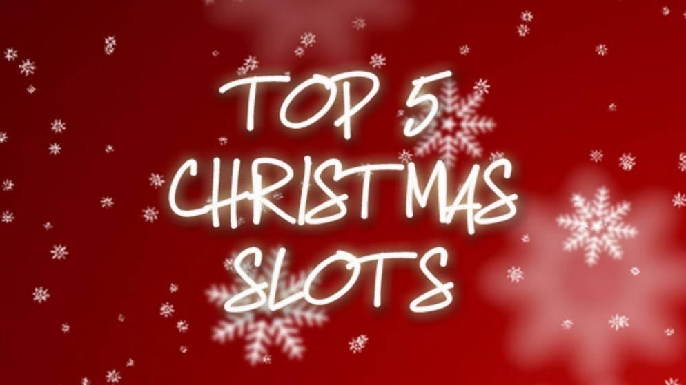 5 božićnih slotova!
