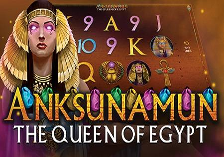 Anksunamun the Queen of Egypt – slot koji donosi sjajnu online zabavu!