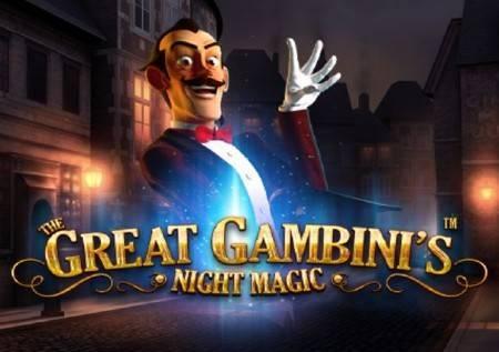 The Great Gambinis Night Magic – slot čarolije!