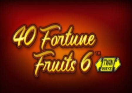 40 Fortune Fruits 6 – osvojite 2000 puta više!