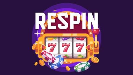 Respin igra u slotovima!