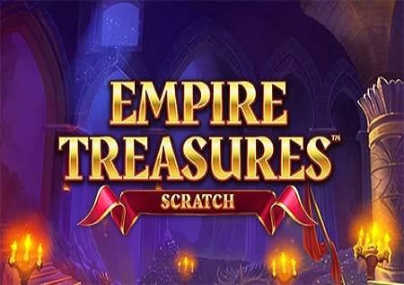 Empire Treasures Scratch – kraljevska slot igra!