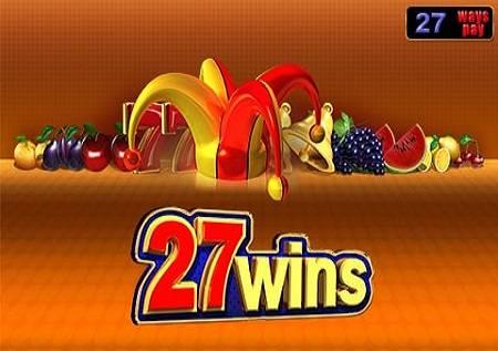 27 Wins – tradicionalni simboli u slotu!