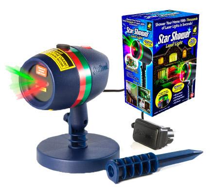 Star Shower Laser Light Projector купить