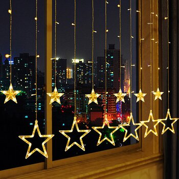 LED RGB Five pointed Star