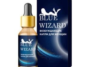 Blue Wizard - Возбуждающие капли для женщин
