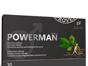 PowerMan средство для потенции