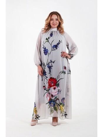 Витрина нарядных платьев