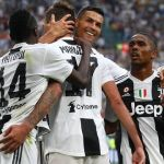 Ronaldo Mandzukic esultano