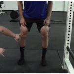 knees out while squatting