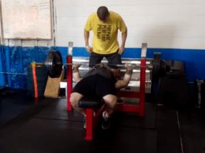 400 pound bench press