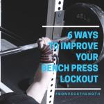 bench press lockout