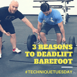 deadlift barefoot