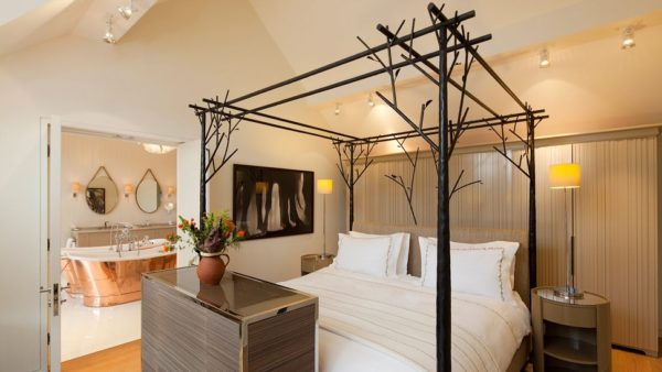 bedrooms at Coworth Park hotel