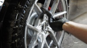 Degreasing arches and wheels