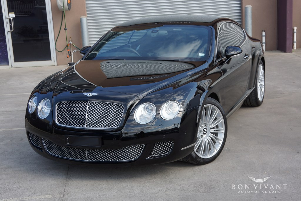 Bon Vivant Rejuvenation Services | Premier Package | Bentley Continental GT Speed