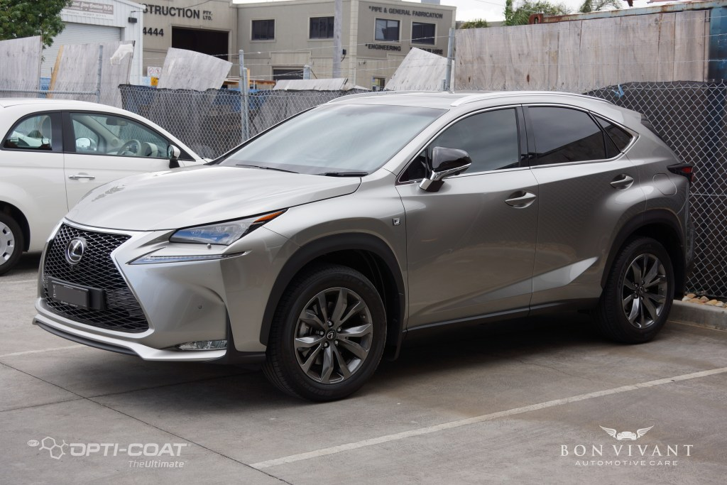 Bon Vivant Paint Protection Coating | Opti-Coat Pro+ x Gtechniq® Interior Protection | Lexus NX200t