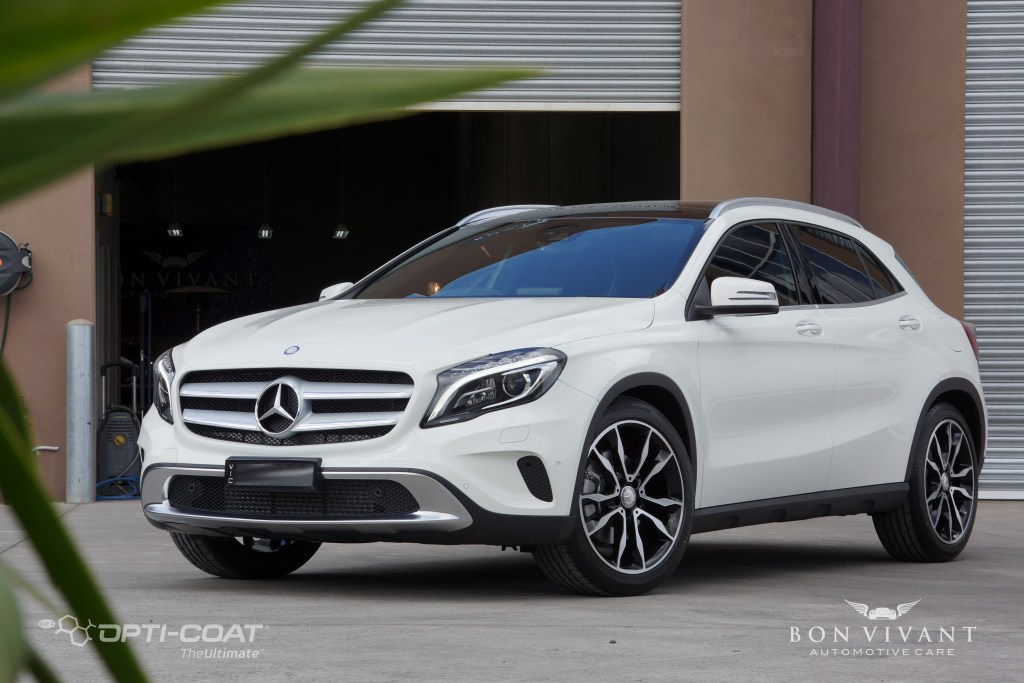 Bon Vivant Paint Protection Coating | Opti-Coat Pro+ | Mercedes Benz GLA 250
