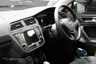 Bon Vivant Paint Protection Coating   Opti-Coat Pro+   Window Tinting   Volkswagen Tiguan TSI Highline