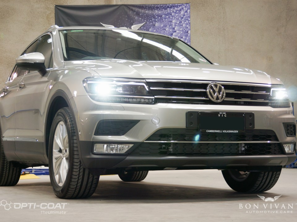 Bon Vivant Paint Protection Coating | Opti-Coat Pro+ | Window Tinting | Volkswagen Tiguan