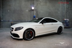 Bon Vivant Paint Protection Coating | Gtechniq | Mercedes Benz C63S