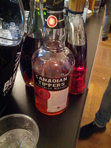 Canadian Tippers Whiskey