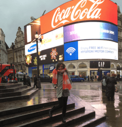 Piccadilly Circus, February 2016 - Photo by: Giovana Van Haute