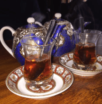 Persian tea - Photo by: Anna Luisa Van Haute