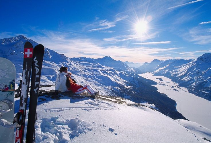 GUIDE TO HONEYMOON IN ST. MORITZ